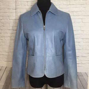 Ann Taylor Petites Leather Jacket